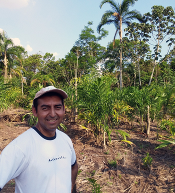Juan Jose on Family's Farm